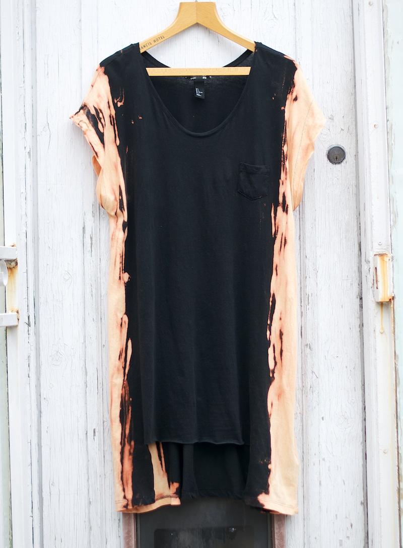 bleached dress