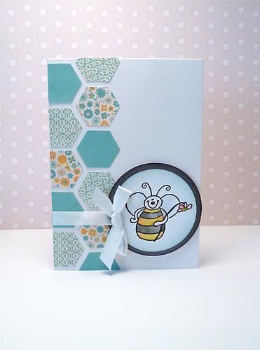 Bee card #154