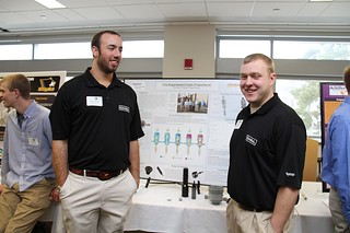 Tyco Foam Proportioner Team members with poster