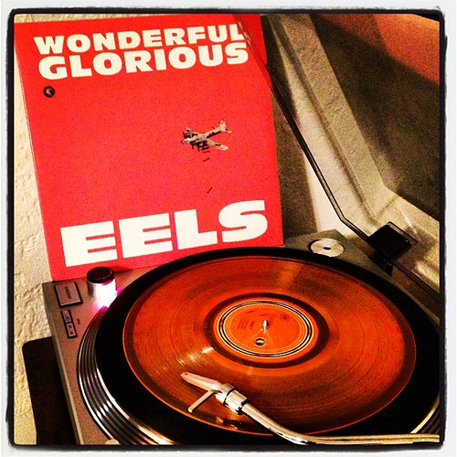 #wonderful #glorious #eels #10inch #orangevinyl #otherpeoplesrecords #packing #photographicplaylist #clubrpm #vinyloftheday #vinyligclub by Big Gay Dragon