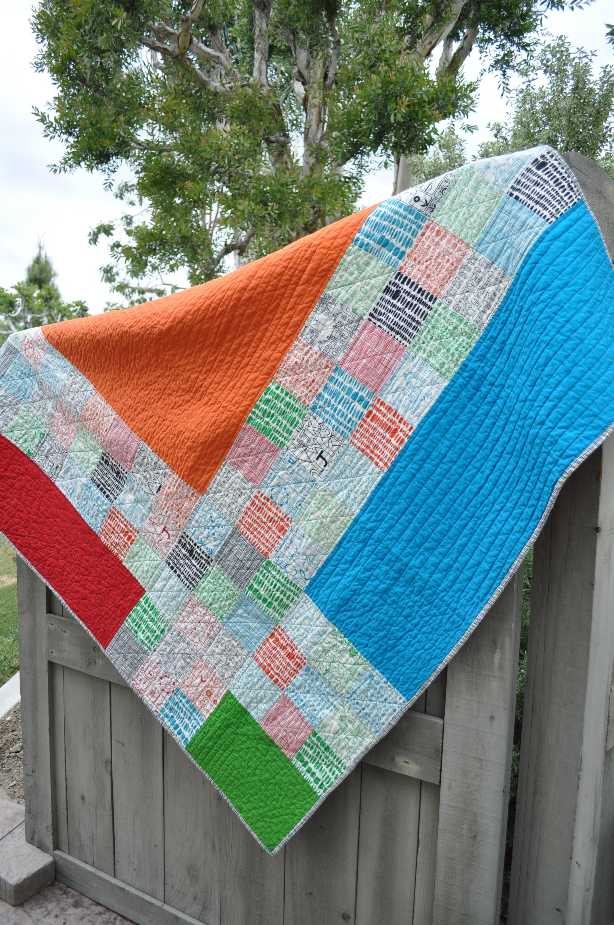 Siblings Together Quilt