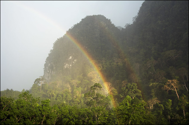 Khao Sok Double Rainbow