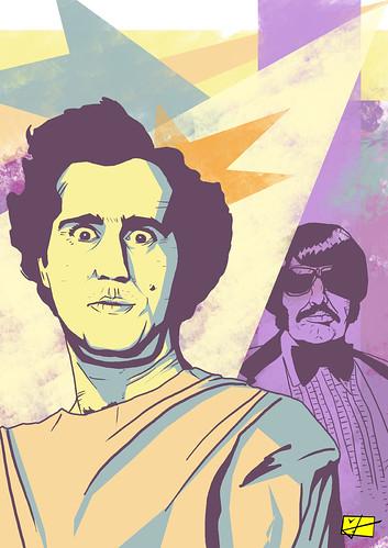Andy Kaufman. Manuel Garcia.