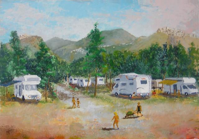 Il campeggio di Cirella
