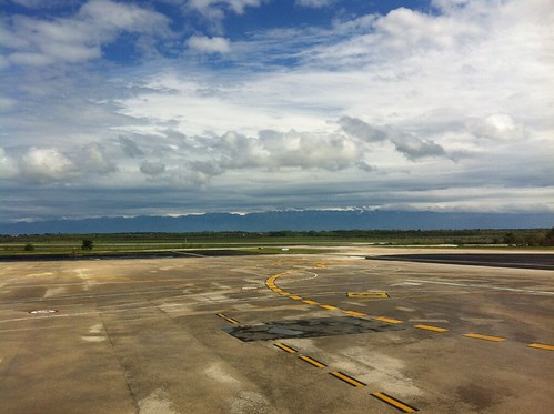 Zadar Airport, Croatia - Mountains in view!