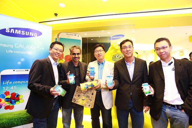 Samsung GALAXY S4 Launch. Photo 2