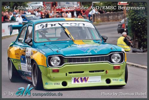 04.- 05.06.2006 • 44. Wolsfelder AvD/EMSC Bergrennen • Andreas Kokor • Ford Escort Mk1