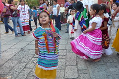 Parade to celebrate 'Day of the Child' in Oaxaca, Mexico