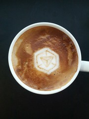 Today's latte, Ingress