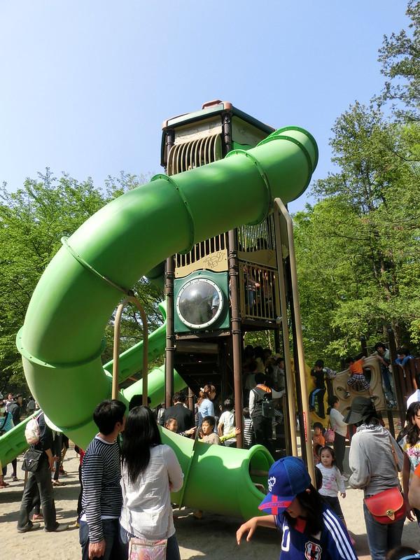 昭和記念公園「森のとりで」