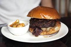 burger @ masak