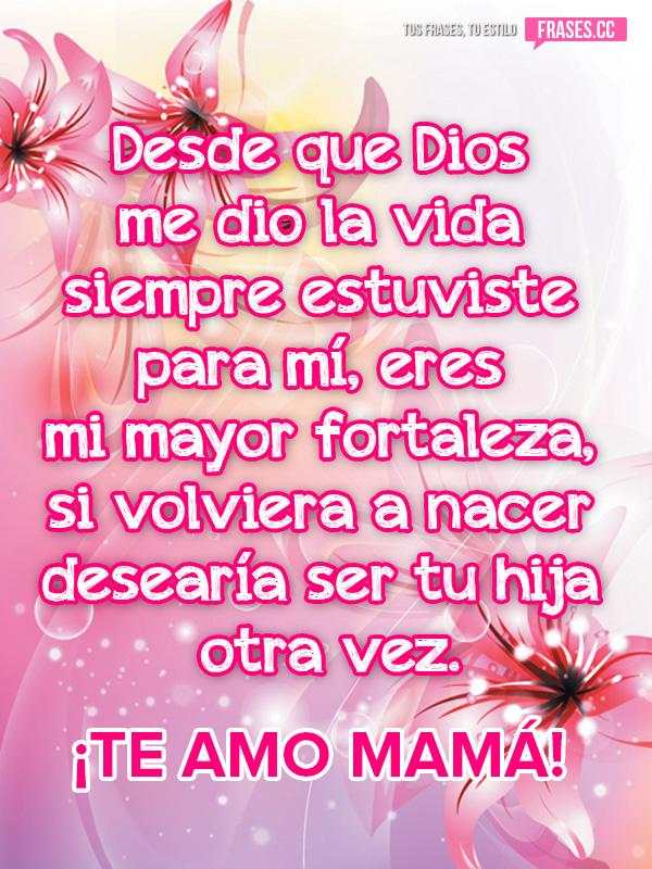 Mensaje Para Mamá De Su Hija Por El Día De La Madre Flickr