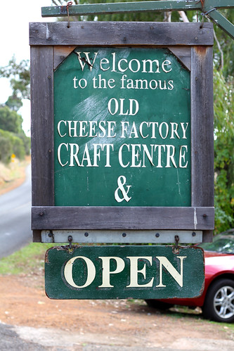 Balingup - Old Cheese Factory Sign