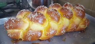 Sweet Potato Challah
