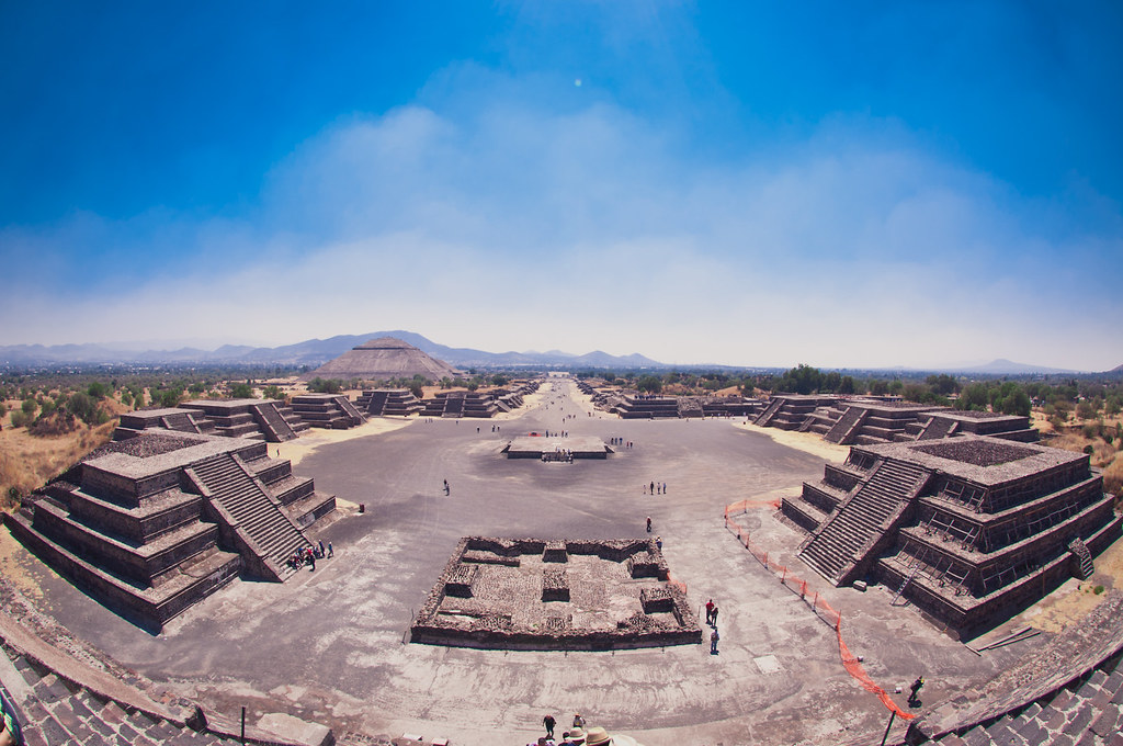 Pyramids of Teotihuacán, Mexico
