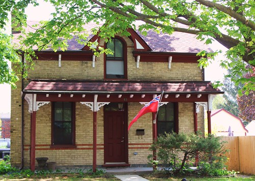 Ontario Gothic Revival Cottage