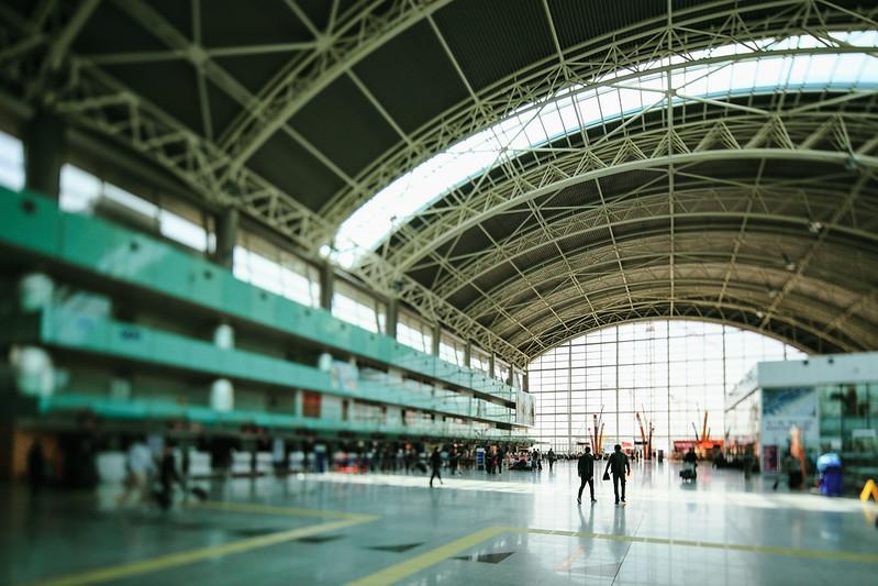 Izmir Adnan Menderes Airport.