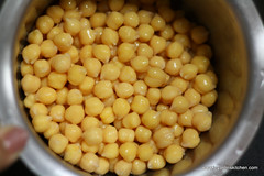 Canned chicpeas