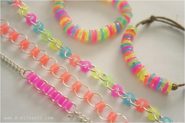 ideas for bracelet designs made using hama perler beads these beads