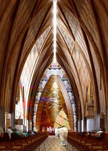 Christchurch Cathedral option 3 aisle