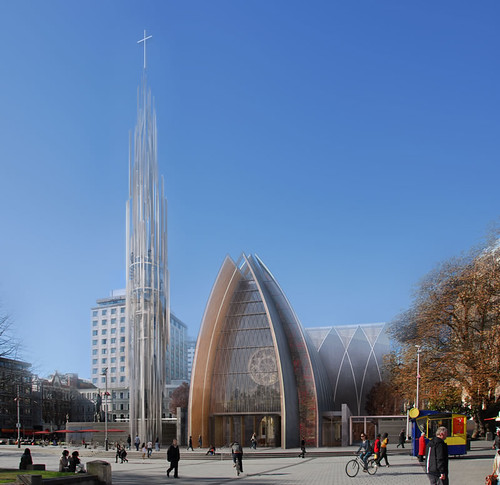 Christchurch Cathedral option 3 exterior