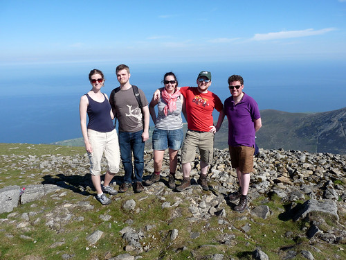 slieve donard group photo