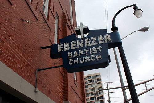 Atlanta - MLK Historic Site: Ebenezer Baptist Church