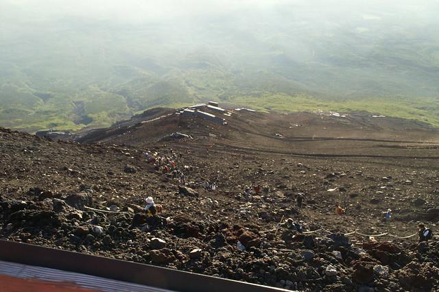 Vägen ner från Mt. Fuji - Tokyo - Japan