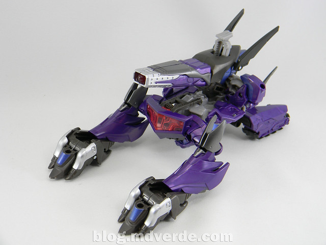 Transformers Hunter Shockwave Voyager - Transformers Go - modo alterno