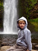 lucas with waterfall