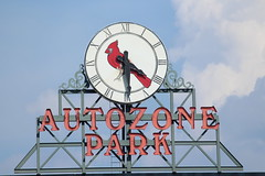 Goodbye from Auto Zone Park, the home of the Memphis Redbirds