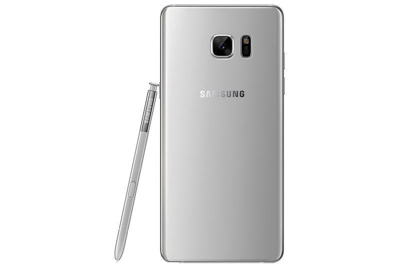 Samsung Galaxy Note 7 - Silver Titanium - Back