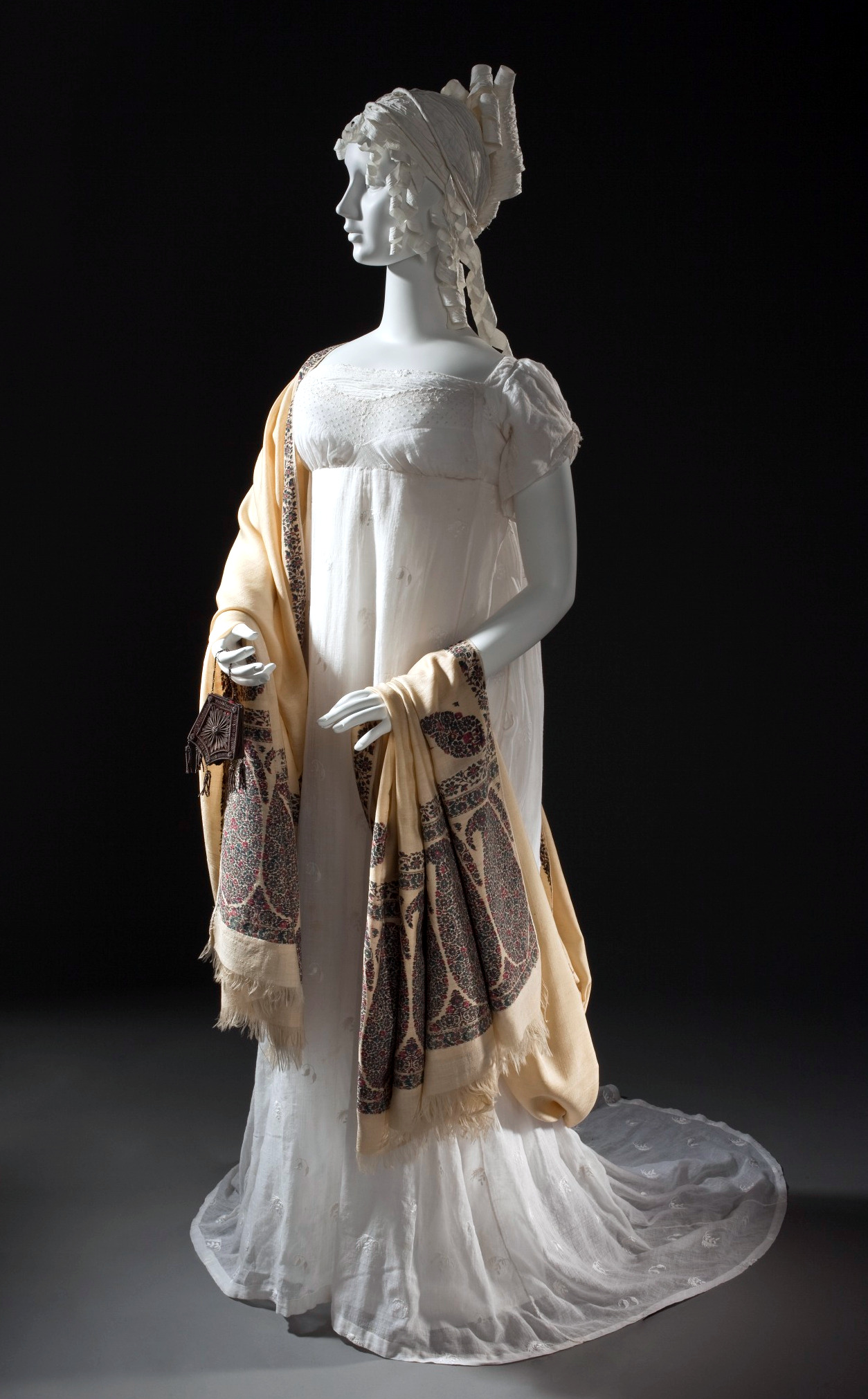 1800 Empire Silhouette Dress, LACMA