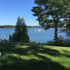 #Maine #mainelife picture perfect day at friends'!