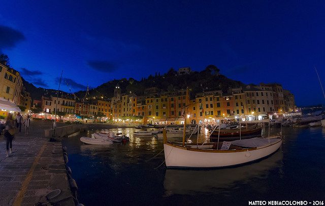 Blue hour at Portofino