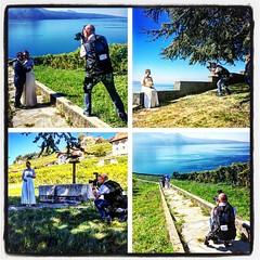 'Behind The Scene...' Merci à mon ami Alfonso pour ces photos !!! #lookaphoto