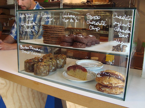 Pastry Case at Sqirl with G & B