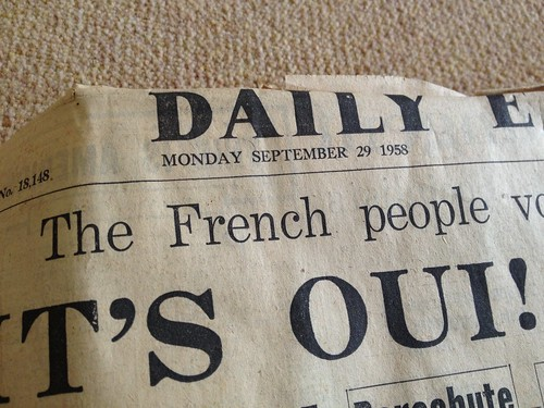 Daily Express September 29 1958