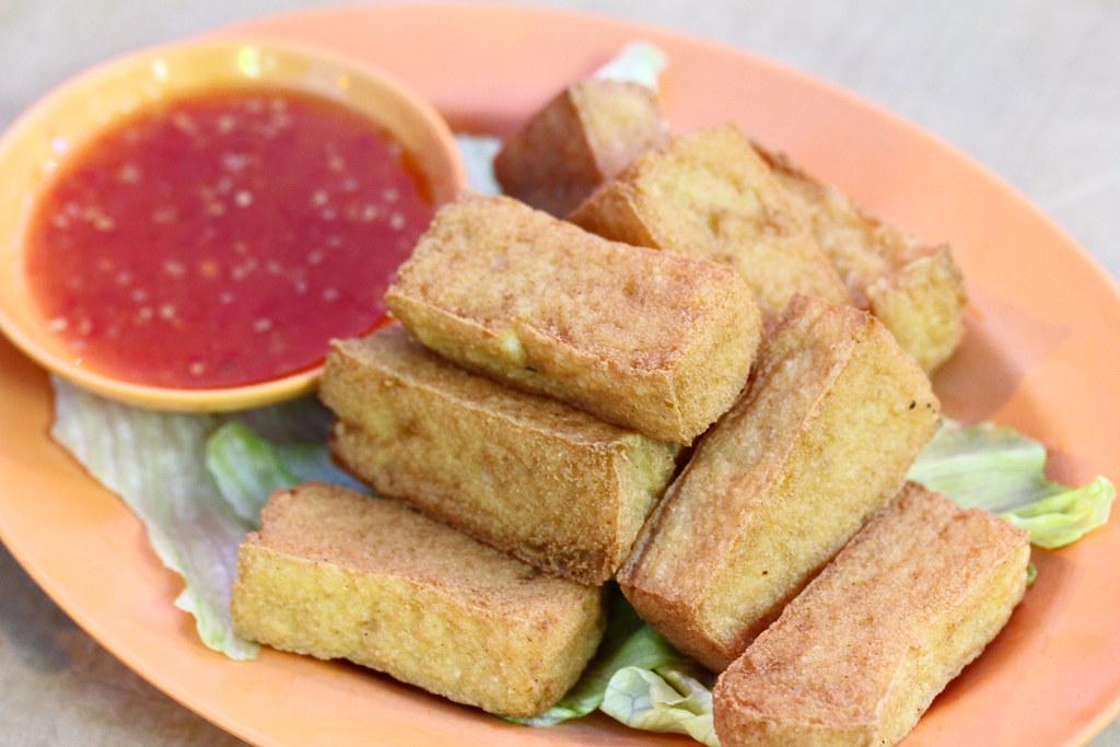 Lai Huat Seafood Restaurant: Crispy Tofu