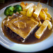 Small photo of Game Pie and Chips in Gravy