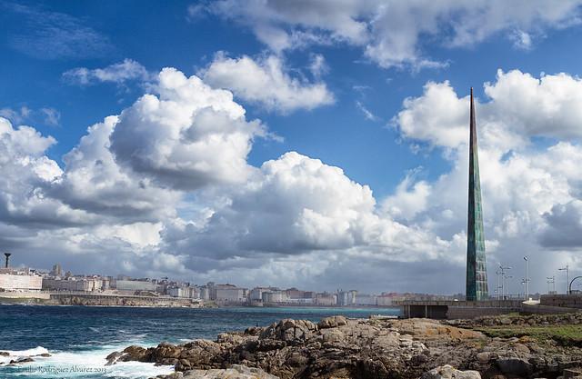Obelisco Millenium. ( A Coruña).