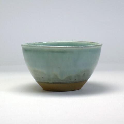 小鹿田焼 柳瀬朝夫窯「蕎麦碗/うす青」