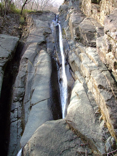 朝日滝二の滝 2011.3.29-1