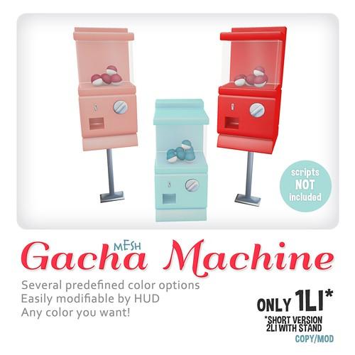 *MishMish* Gacha Machine MESH