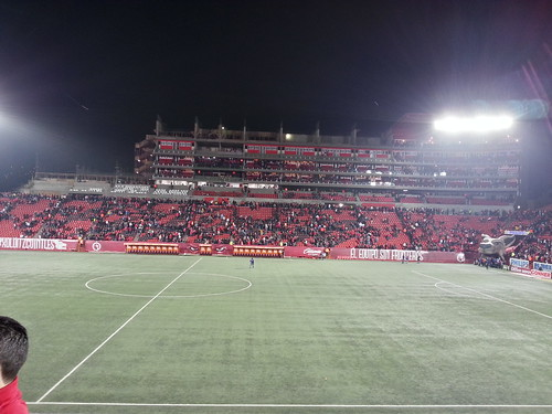 Avances Construcción Estadio Caliente abril 2013