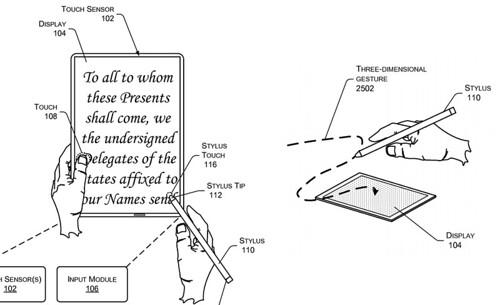 AMAZON brevet tablette stylet magnétique