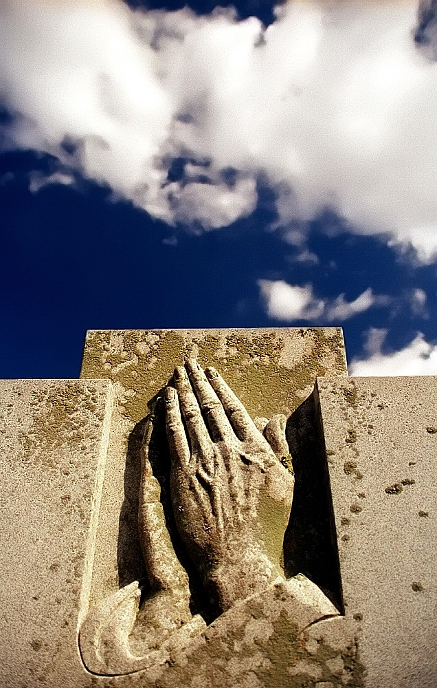 "Cincinnati - Spring Grove Cemetery & Arboretum ""Praying Hands"""