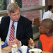 Agriculture Secretary Vilsack at Wolcott Elementary  CT
