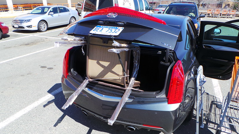 Chair Shopping With Mom: In the Trunk