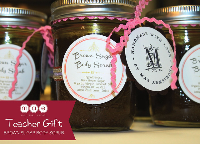 Teacher Gift - Brown Sugar Body Scrub5